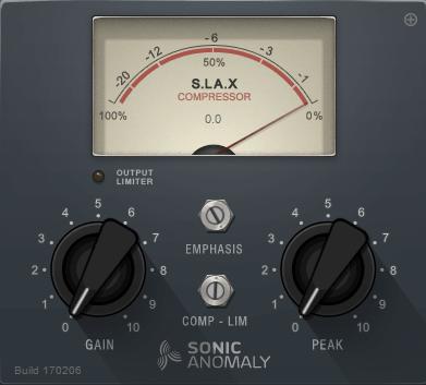 SLAX Sonic Anomaly
