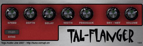 TAL-Flanger togu audio line