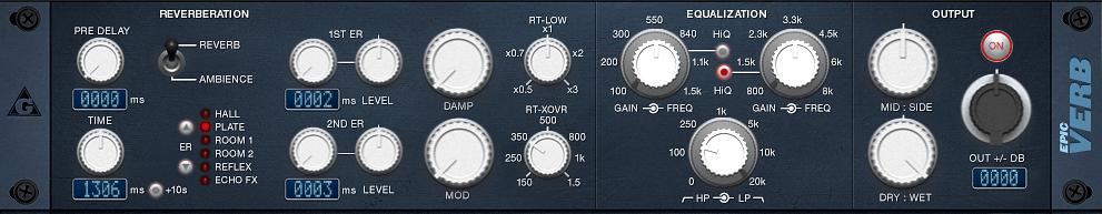 epicVerb variety of sound
